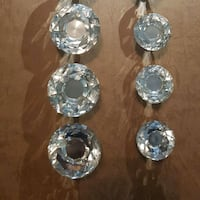 Large and Small Crystal Knobs Vaughan, L4H 3N5