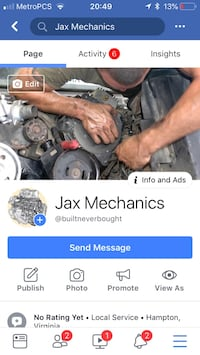 Mechanic small and large