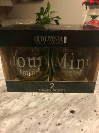 Set of two-Fifth Avenue wine goblets Germantown, 20876