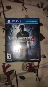 Sony ps4 uncharted 4 a thief's end game 2220 mi