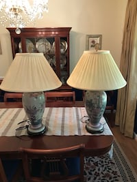 Porcelain Table Lamps from Pennsylvania House Marshall, 20115