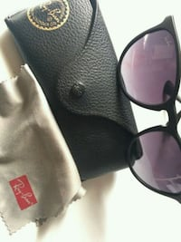 black framed Ray-Ban sunglasses with case West Hollywood, 90048