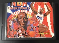NBA Basketball Sega