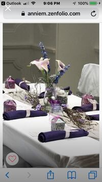 Various wedding decorations- different prices Bethesda, 20814