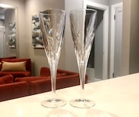 Crystal Champagne Flutes Brookfield, 60513