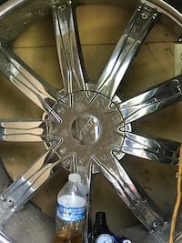 24 inch Rims and tires chrome  Ridgeland, 39157