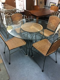 Wicker dining table Deland, 32720