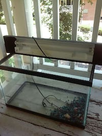 black framed clear glass pet tank Silver Spring, 20902