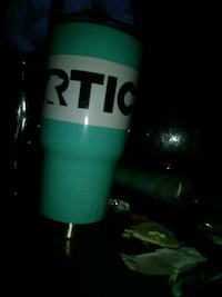 teal and white Artic tumbler Houston, 77070