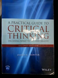 A PRACTICAL GUIDE TO CRITICAL THINKING Whitby, L1R 1S3
