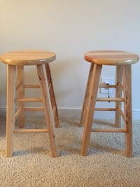 Identical pair of barstools - perfect condition Arlington, 22201