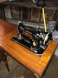 Singer antique sewing table West Warwick, 02893