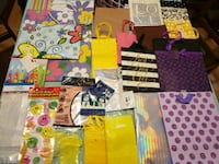 Assorted Gift Bags, Cards, and Tissue Paper Toronto, M4C 5A5
