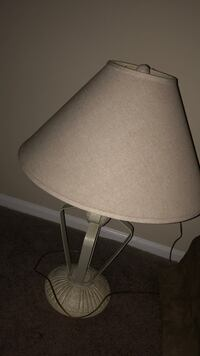 white and gray table lamp Conyers, 30013
