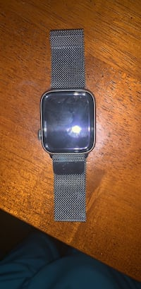 Apple Watch 44mm stainless steel Milanese silver band Revere, 02151