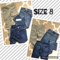 Girls Clothes size 8 Des Moines, 50313