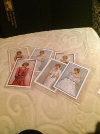 6 Princess Diana Stamps Collection New Mint Toronto, M5H
