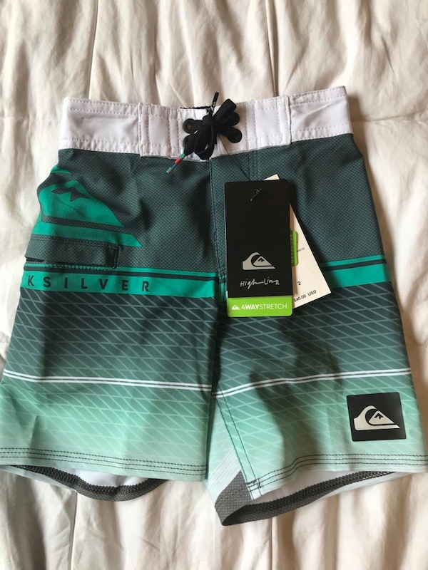 66fbe38eb0 Used Quicksilver Surf shorts, 2T for sale in Kaneohe - letgo