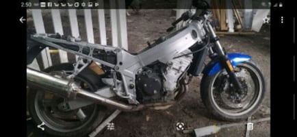 Parts only Triumph motorcycle