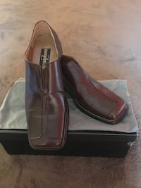 Zengara men's dress shoes size 9 55 km