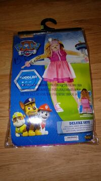 Brand new 2t-4t deluxe skye costume Indianapolis, 46237