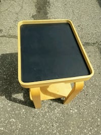 Small child size serving cart with tray and wheels Oakville, L6H