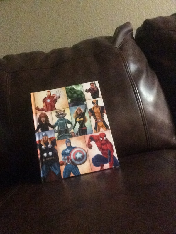 Marvel character collage