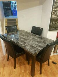 Dining table and chairs  Mississauga, L5A 3K5