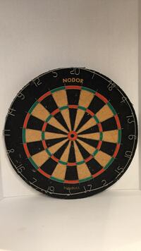 black, red and brown Nodor dart board West Vancouver, V7T 1X2