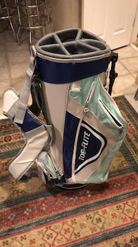 gray and blue Ping golf bag Wilmington, 01887