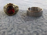 gold and red gemstone ring Silver Spring, 20902