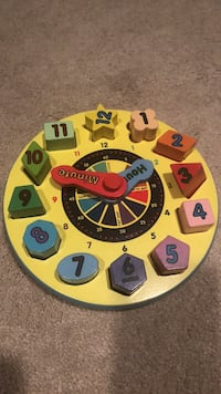 Melissa and Doug shape sorting Clock Falls Church, 22042