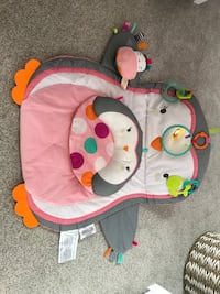 Bright Starts Tummy Time Prop and Play - Penguin