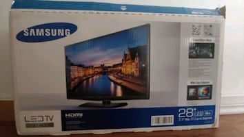 28 inch smart tv.Brand new never used