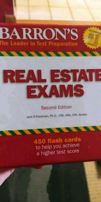 Real Estate Test Flash cards Fargo, 58102