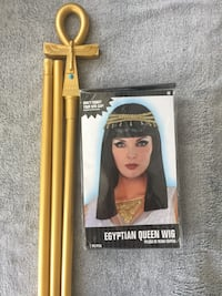 Wig for Egyptian queen costume Toronto, M1P 0B3