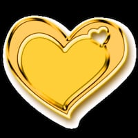 gold-colored heart pendant Houston, 77055
