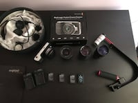 Blackmagic pocket + 4 tane lens + Gimbal Keçiören, 06290