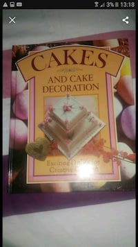 Cakes and cake decoration book West Midlands, B44 0TL