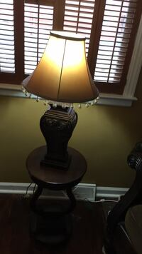 Black and brown table lamp Lexington, 40503