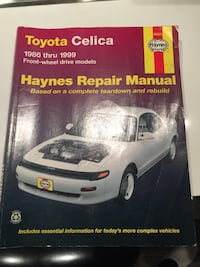 Toyota Celica repair manual