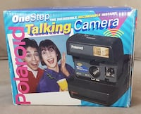 Vintage Polaroid Talking Camera