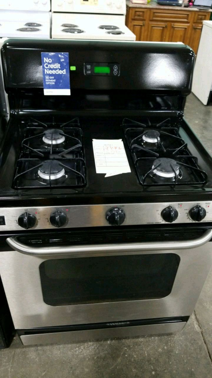 used ge natural gas stove 30w in excellent condition for sale in rh gb letgo com