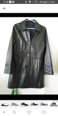 Woman Leather coat med Laval, H7M 4A2
