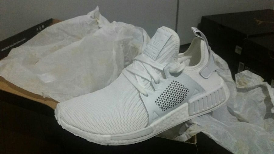 Used Adidas Nmd Xr1 Triple White For Sale In Toronto Letgo