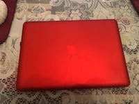Apple A1278 Macbook Pro Grey, Gun Metal Laptop Red Case Jacksonville