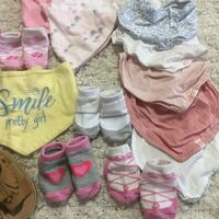 0-3 m baby girl accessories lot at Coventry  Calgary, T3K 6E8