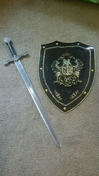 Excalibur sword and shield Portland, 97216