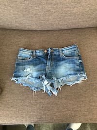 Distressed blå denim korte shorts Roa, 2740