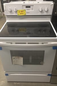 New Whirlpool Glasstop Electric Range (scratched/dented)